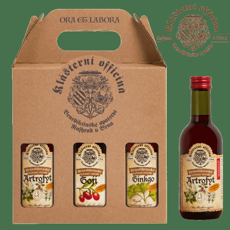 REKSEL bylinné produkty dárkové balíčky